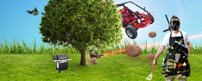 lasergamen bbq buggy1Lasergame & Buggytour & BBQ pakket
