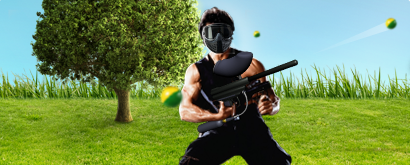 paintball RamboPaintball Rambo Paket